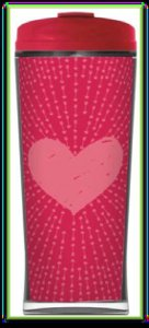 2011 STARBUCKS Valentins Sweet COLLECTORS SERIES 12 OZ. TUMBLER
