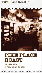 Kawa Starbucks Pike Place® Roast Coffee