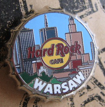 Warsaw Bottle Cap Pin NEW LE 150