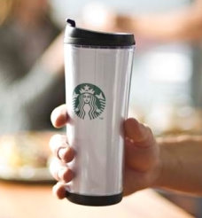 STARBUCKS  Poland COLLECTORS SERIES 12 OZ. TUMBLER