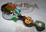 Hard Rock Cafe KRAKOW 2010 Horse Driven Cap Guitar PIN