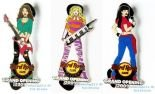 Hard Rock Cafe KRAKOW '09 Grand Opening Girls Set Pin LE 500