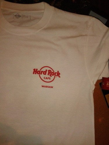 Hard Rock Cafe Warsaw 2014 T Shirt City Tee S Xxl 2014