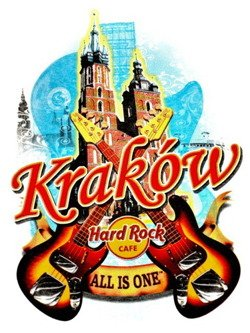 Hard Rock Cafe KRAKOW 2012 T-shirt CITY Tee XXL