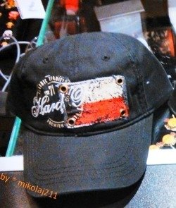 Hard Rock Cafe KRAKOW Heritage Flag Hat City BASEBALL CAP Black