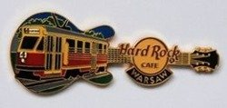 Hard Rock Cafe WARSAW 2007 TRAM Pin LE 1000