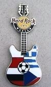 Hard Rock Cafe WARSAW 2012 Euro Football Group A Pin LE 100
