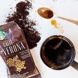 Kawa Starbucks VERONA Blend Coffee ziarnista 250g