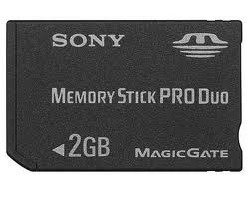 Sony 2GB MEMORY STICK PRO DUO MS Card 2 gb PSP