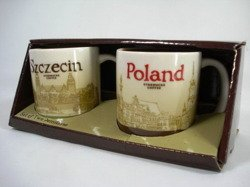 Starbucks CityMug SZCZECIN POLAND 2011 CITY MINI CUP SET