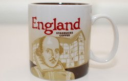 Starbucks ENGLAND CityMug ENGLAND GREAT BRITAIN CITY MUG ICON