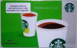 Starbucks POLAND Warsaw 2012 Gift Card Coffee or Tea Prepaid Polen UN-USED Register Your Card