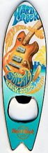 Hard Rock Cafe SAN DIEGO 2008 SURFBOARD Magnet Bottle Opener