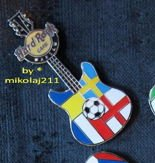 Hard Rock Cafe WARSAW 2012 Euro Football Group D Pin LE 100