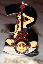 Hard Rock Cafe WARSAW 2010 Anniversary 3st. Pin LE 200