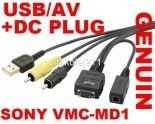 Kabel USB AV Sony VMC-MD1 do DSC-T2 T5 T9 T10 T20 T50 T70