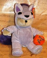 Starbucks Bearista Halloween 2010 Fall Wolf Bear LE