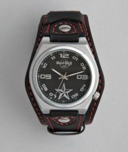 HARD ROCK CAFE Men's Retro Star Double Band Watch