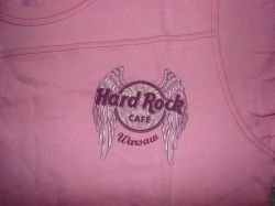 Hard Rock Cafe WARSAW Ladies Rock Angel T-Shirt Short sleeve -L-