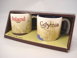 Starbucks CityMug GDYNIA POLAND 2011 CITY MINI CUP SET