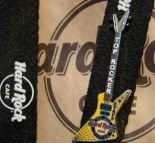 Hard Rock Cafe WARSAW 1st. Top Rocker OCT '08 STAFF pin