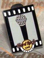 Hard Rock Cafe WARSAW 2011 Microphones Series Pin
