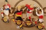 Hard Rock Cafe WARSAW EURO 2008 soccer football Pin SET LE 250