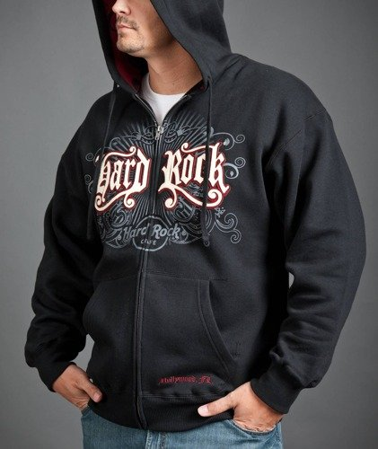 Hard Rock Cafe Hoodie Red