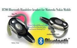 Bluetooth HEADSET HandsFree Motorola H700 black