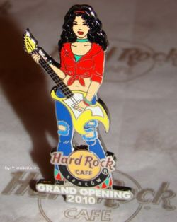 Hard Rock Cafe KRAKOW 2010 Grand Opening Pin LE 300