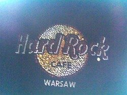 Hard Rock Cafe WARSAW 2012 Women's Color Stone Classic Tee S-XXL