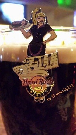 Hard Rock Cafe WARSAW 2015 Puzzle Set of 3 Pins LE 150