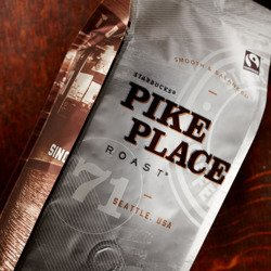 Kawa Starbucks PIKE PLACE ROAST Coffee ziarnista 250g
