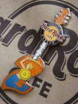 Hard Rock Cafe WARSAW 2st. Anniversary STAFF pin LE 150