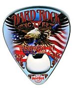 Hard Rock Cafe WASHINGTON DC Guitar Pick Magnet Bottle Opener