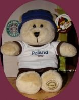 Starbucks Bearista Poland 2010 Warsaw Teddy Plush Bear