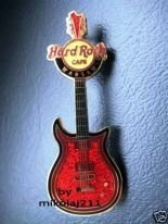Hard Rock Cafe WARSAW - 2008 - Core Guitar #2 Pin