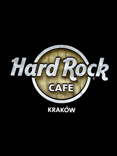 Hard rock cafe krakow t shirt classic tee white odziez for Classic hard house tunes