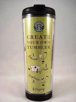 Starbucks create your own tumbler kubek termiczny mug 12 for Starbucks create your own tumbler blank template