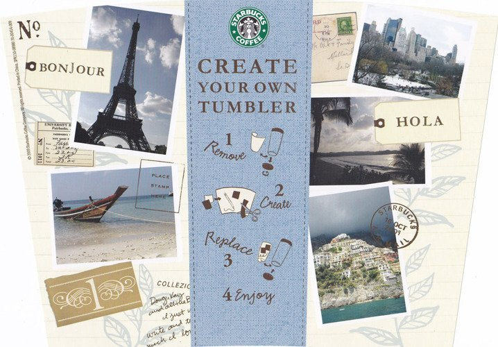 starbucks create your own tumbler blank template starbucks create your own tumbler kubek termiczny mug 16