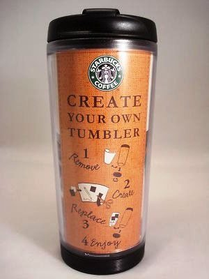 Starbucks Create Your Own Tumbler Kubek Termiczny Mug 8 Oz