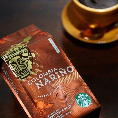 Starbucks Colombia Nari 241 O Whole Bean Coffee 250g Colombia