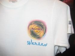 HARD ROCK CAFE WARSAW 2008 T-SHIRT City Tee size -S-