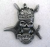 Hard Rock Cafe WARSAW 2012 - 3D Crown Skull Pin LE