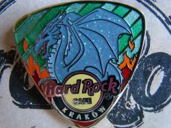 KRAKOW Dragon Shield - Guitar PICK - PIN