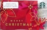 Starbucks POLAND Warsaw 2014 Gift Card Merry Christmas Prepaid UN-USED Register Your Card