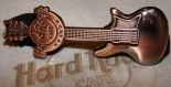 Hard Rock Cafe KRAKOW 2008 Guitar Copper 3D Pin
