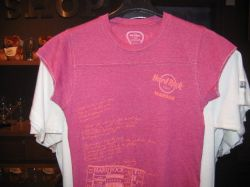 Hard Rock Cafe WARSAW Ladies T-shirt Jr. Let`s Play Tee S-L