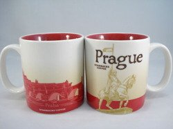 Starbucks PRAGUE CZECH REPUBLIC 2010 CITY MUG