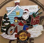 Hard Rock Cafe KRAKOW '08 CHRISTMAS XMAS Pin LE 100